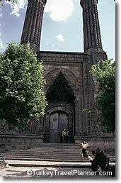 Twin Minaret Medrese, Erzurum, Turkey
