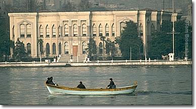 Kamondo mansion, Golden Horn, Istanbul, Turkey