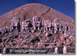 Eastern Temple, Nemrut Dagi, Eastern Turkey