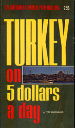 Turkey on $5 a Day, 1st edition