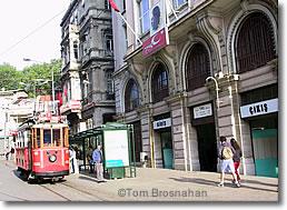 Tünel Station, Tünel Square, Istanbul, Turkey