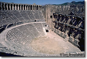 Roman theater, Aspendos, Turkey