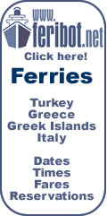 Ferryboats Turkey - Greece - Italy