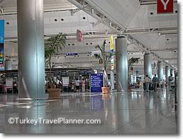 Ataturk Airport International Terminal, Istanbul, Turkey