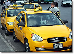 Taxis in Istanbul, Turkey