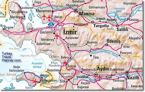 Izmir Turkey Map Maps of Izmir Region, Turkey
