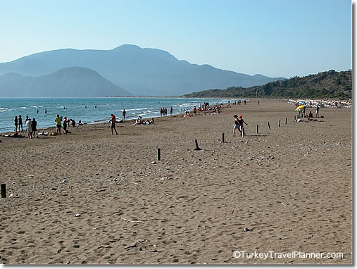 Iztuzu Beach, near Dalyan, Turkish Mediterranean Coast