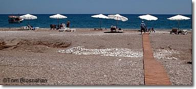 Olimpos Beach, Mediterranean Turkey