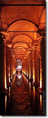 Basilica Cistern (Yerebatan Saray Sarnıçı), Istanbul, Turkey
